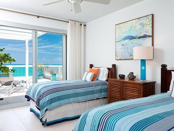 Guest Bedroom with Views and Balcony