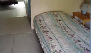 Eastbrook cottage photo - One of the upstairs rooms with twin bed