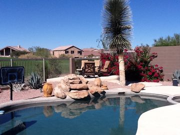 East Mesa house rental - Beautiful, relaxing backyard!