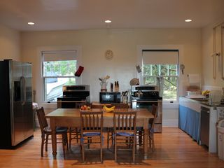 Seal Harbor house photo - Kitchen has adjoining breakfast room