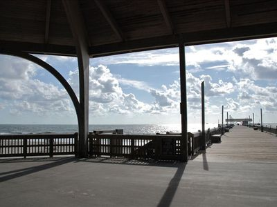 Tybee Island Pier, short 3-minute walk to this very spot!