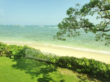 Laie house rental - Ocean View from Kitchen, Dining, Living Room, Master Bedroom, Deck and Yard