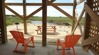 Relax and enjoy with Pea Island Nature Preserve as your backyard.