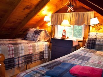 The Loft - Twin Beds. What kid won't love this!?! Or Adult, for that matter. . .