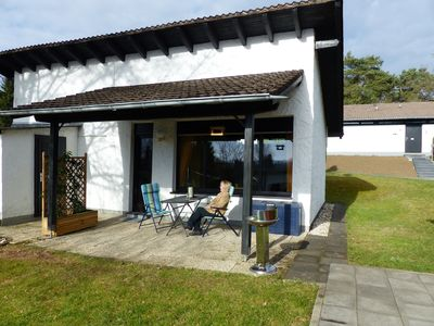 Free standing. Holiday home in the outskirts directly on the trail with free Wi-Fi, Spülm u. a.