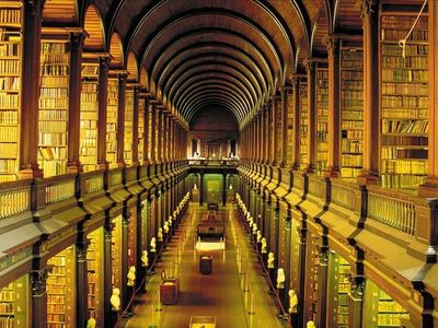 The Library in Trinity College