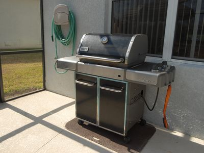 Top of the range Weber Grill