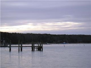 Vineyard Haven house photo - View from private beach on Lake Tashmoo