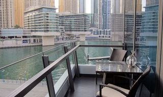 Dubai Marina & Al Sufouh apartment photo - Balcony