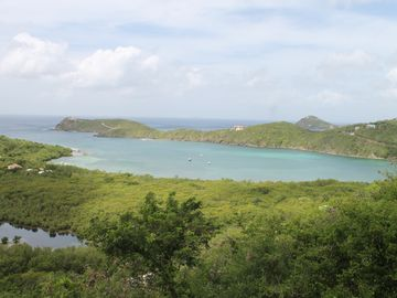 Fish Bay on beautiful St. John as experienced from Sundancer Villa!