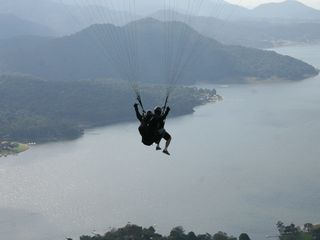 Valle de Bravo villa photo - Valle de Bravo is world-renowned among paragliders