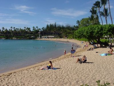 Another view of Napili Bay Beach.