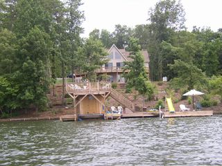 Lake Anna house photo - House from the lake