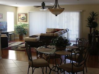 Indian Rocks Beach condo photo - Living room and dining area