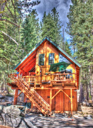 Vacation rentals near chute hill campground nevada city for Cabin rentals in nevada