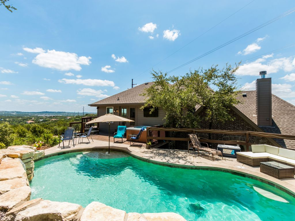 Lake Travis Hilltop Sport and Water Extravaganza 3.5 Acre Estate
