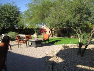 Scottsdale house photo - Outdoor sitting area with fire pit.