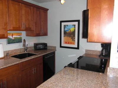 New Kitchen w/ Granite Counters, Alder Cabinets, Bosch Dishwasher, GE Appliances