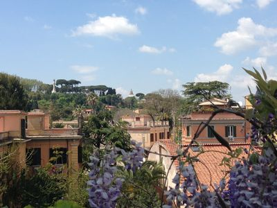 Garibaldi Roof Garden - Terrace with spectacular views of S. Peter and Gianicolo