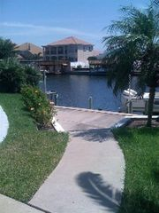 Corpus Christi house photo - Our backyard and dock
