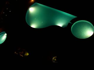La Salina condo photo - Infinity pool & jacuzzi right by the beach (at night)