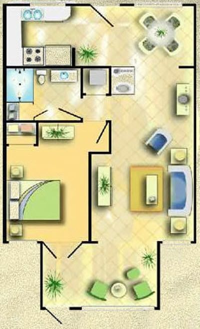Our condo floor plan