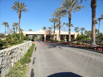 Desert Horizons CC Front Gate Entrance Driveway to Security Gard Access