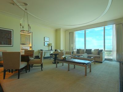 SPREAD OUT IN YOUR MEGA SUITE!