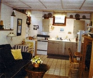 Separate Kitchen in Lower Level