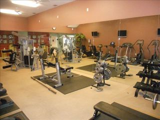 North Padre Island condo photo - Fitness Center.
