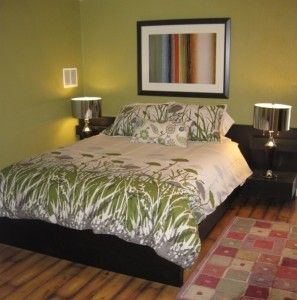 Penticton Room- Queen bed with walk out to pool deck