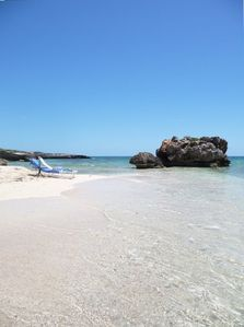 Anguilla villa rental - The beach in Front of Three Dolphins