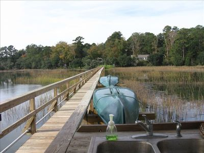 Enjoy fishing, boating, and relaxing on this beautiful dock!