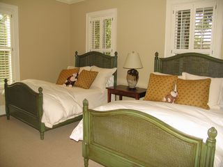 Kiawah Island house photo - First Floor Bedroom