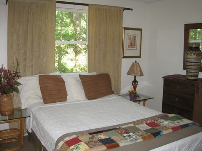 Master has Private Bathroom and Shower - Queen Bed