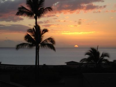 Wailea condo rental - Sunsets from our Lanai