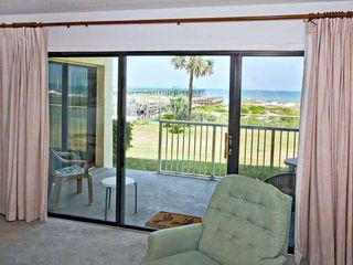 Fernandina Beach condo photo - Patio and view