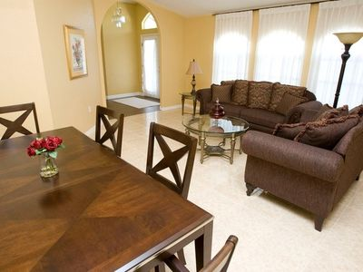 Your living and dining room are perfect for two or hosting a large gathering.