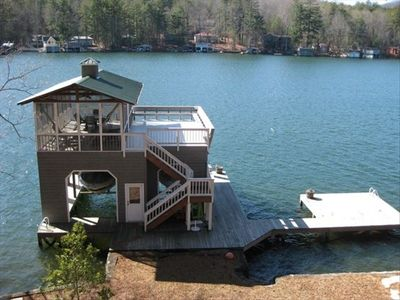 lake burton north georgia mountains vacation cabin rental