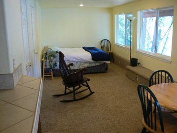 Daylight Basement Studio Unit (separate entrance)