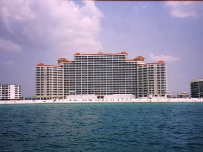 View Of The Lighthouse From The Beach - Gulf Shores Condo Rental