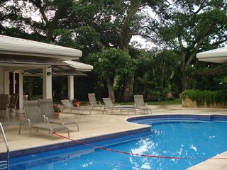 Santa Ana condo photo - Swimming pool and rest area