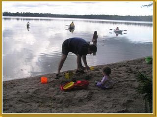 Eastbrook cottage photo - Sandy beach, lots of water fun