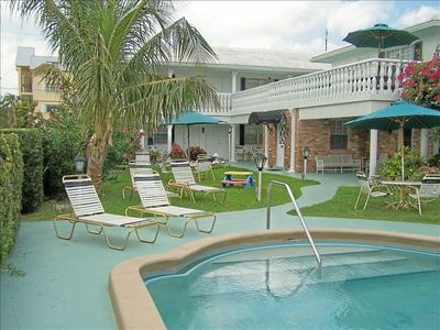 Deerfield Beach hotel rental - Another view of the garden area