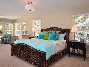 Sneaking in a snooze? Main level master bedroom