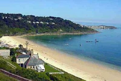 Carbis Bay Beach and St Ives