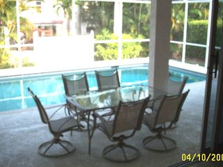 Vacation Homes in Marco Island house photo - Pool with stainless grill (not shown)