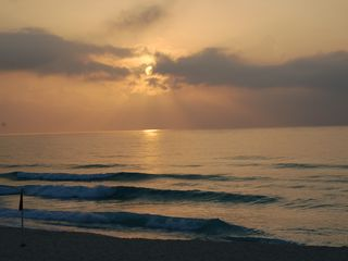 Cancun condo photo - Sunrise at our beach