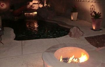 Peoria house rental - Pool and Fire Pit
