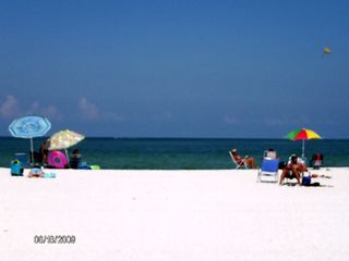 Seaview condo photo - View of Marco Island South Beach - Two minute walk